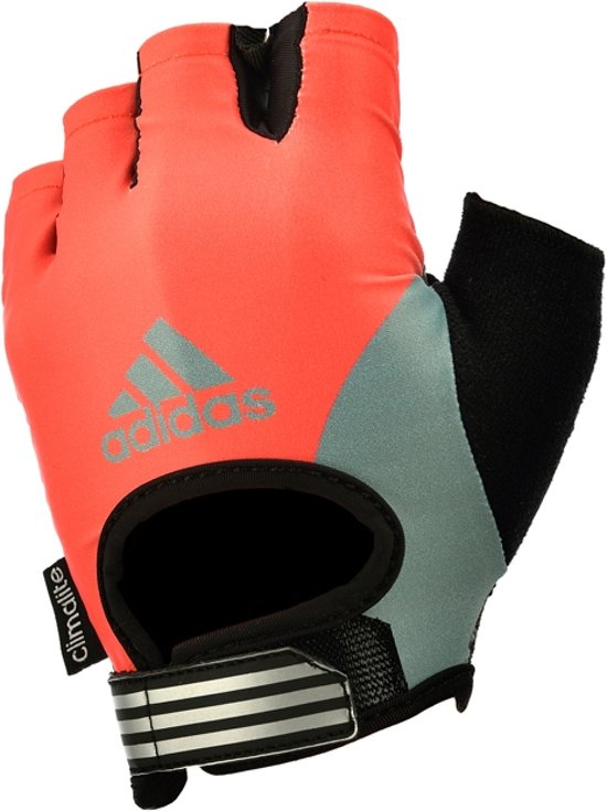 Fitness handschoenen Red Sunrise Adidas dames S